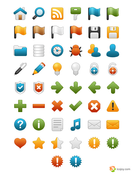 preview3 50 Pixel Perfect Icons Sets for Your Collection!