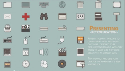 retro1 500x285 50 Pixel Perfect Icons Sets for Your Collection!