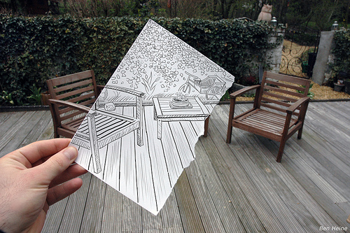 4516416923 639939923b1 40 Innovative Examples Of Pencil vs. Camera Photography