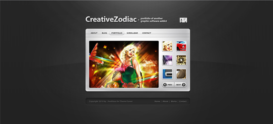 Creative Zodiac 25 Brilliant Business and Portfolio WordPress Themes