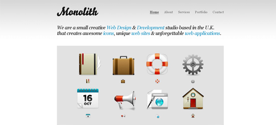 Monolith 25 Brilliant Business and Portfolio WordPress Themes