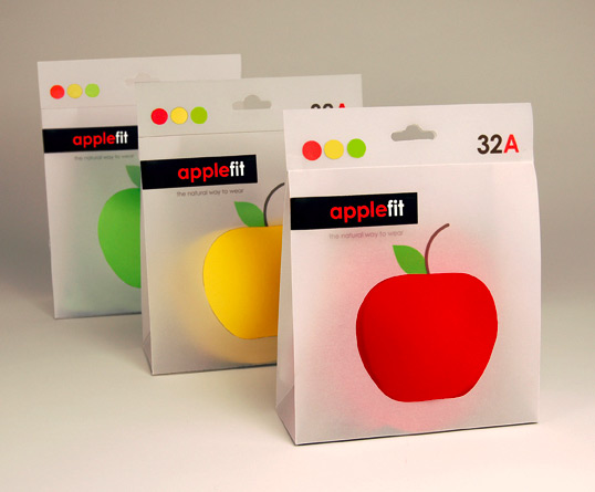 applefit11 50 Creative Health/Beauty Packaging Design
