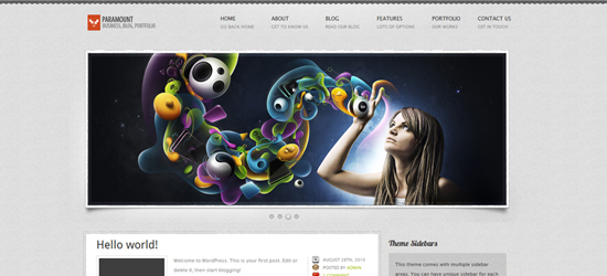 blueprint1 25 Brilliant Business and Portfolio WordPress Themes