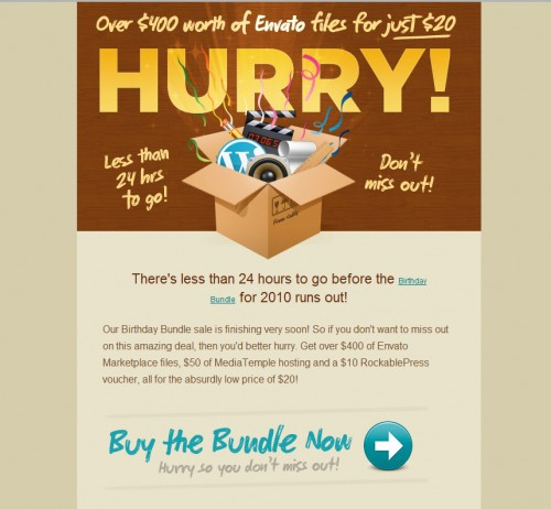 envato 500x462 45 Eye Opening Examples of Email Newsletter Designs