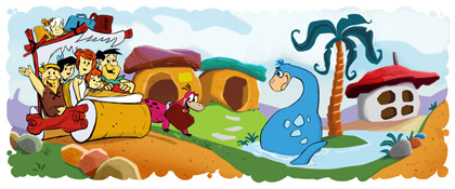flintstones10 hp1 Top 45 Google Logo Designs