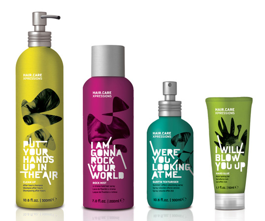 hair11 50 Creative Health/Beauty Packaging Design