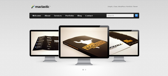 mactastic 25 Brilliant Business and Portfolio WordPress Themes