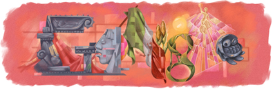 mexicoindependence2010 hp1 Top 45 Google Logo Designs