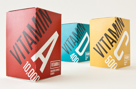 vitamin11 50 Creative Health/Beauty Packaging Design