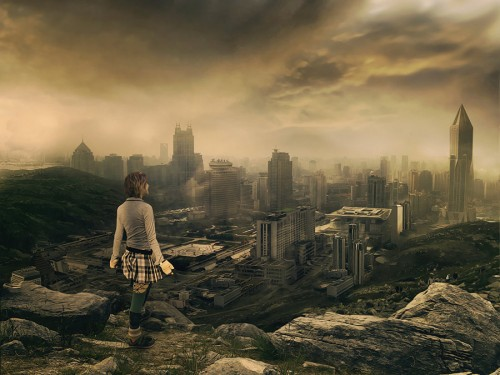 A life after 2012 by psdholic1 500x375 45 Impressive Apocalyptic Artworks