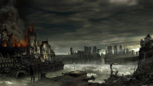 Apocalypse 2 by pierremassine1 500x281 45 Impressive Apocalyptic Artworks
