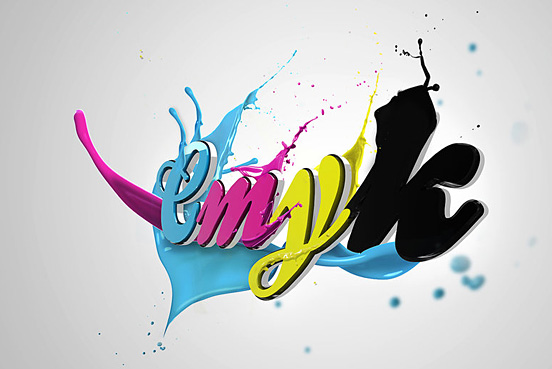 CMYK l1 50 Remarkable Examples Of Typography Design #3