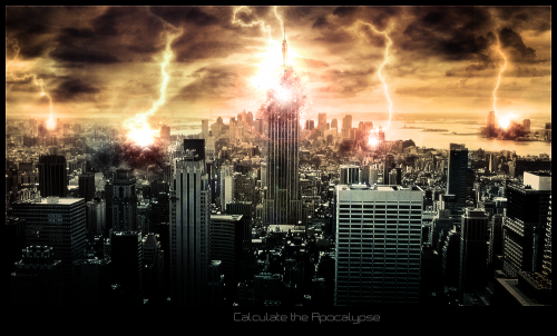 Calculate the Apocalypse by Quoenusz1 500x302 45 Impressive Apocalyptic Artworks