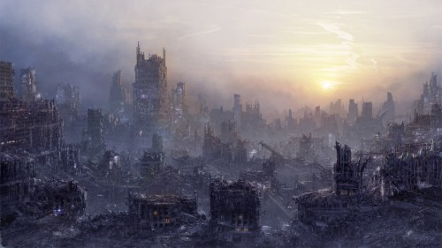 Environment  POST APOCALYPSE by I NetGraFX1 500x281 45 Impressive Apocalyptic Artworks