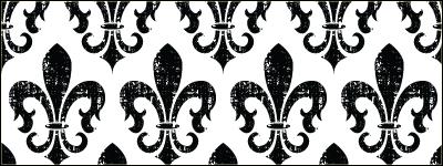 Grungy Fleur de Lis 45 Free Floral & Ornament Textures