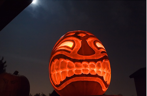 Halloween Tiki II 65 Creative Pumpkin Carving Designs