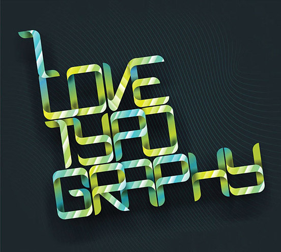 I Love Typography l1 50 Remarkable Examples Of Typography Design #3