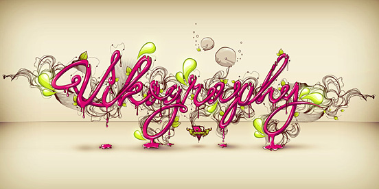 Vikography l1 50 Remarkable Examples Of Typography Design #3