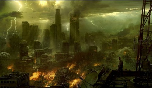 end of the world by PLuSSbjk1 500x290 45 Impressive Apocalyptic Artworks