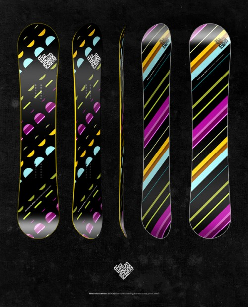 10156812422051341 500x618 50 Beautiful Examples of Snowboard Designs