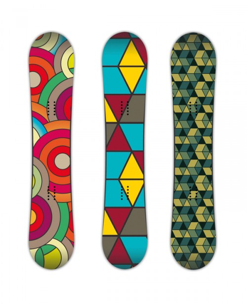10287712605451861 500x615 50 Beautiful Examples of Snowboard Designs