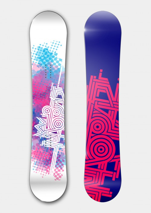 11153112466652751 500x706 50 Beautiful Examples of Snowboard Designs