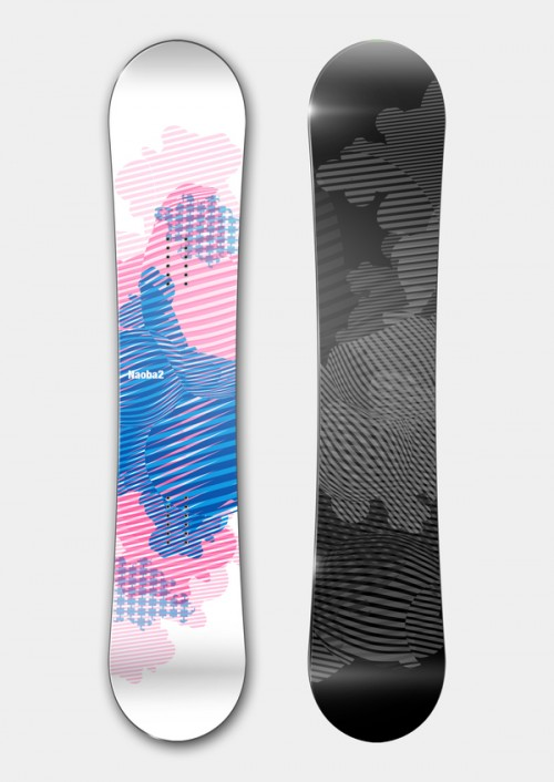11153112468025831 500x706 50 Beautiful Examples of Snowboard Designs