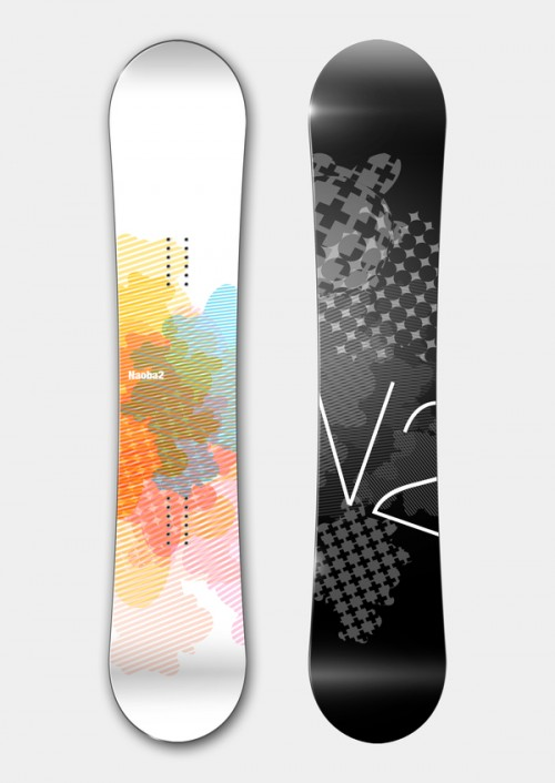11153112468044891 500x706 50 Beautiful Examples of Snowboard Designs
