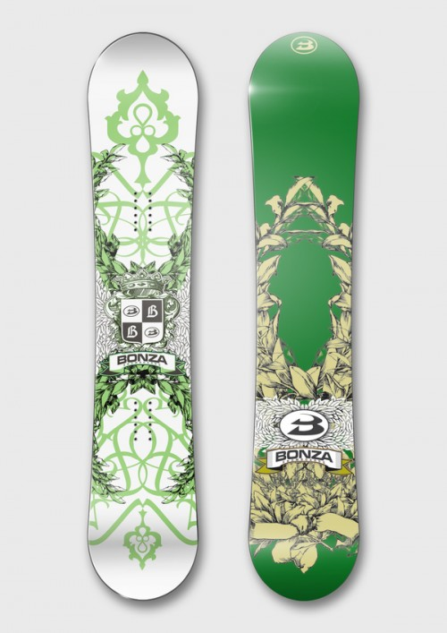 1115311246836789 500x707 50 Beautiful Examples of Snowboard Designs