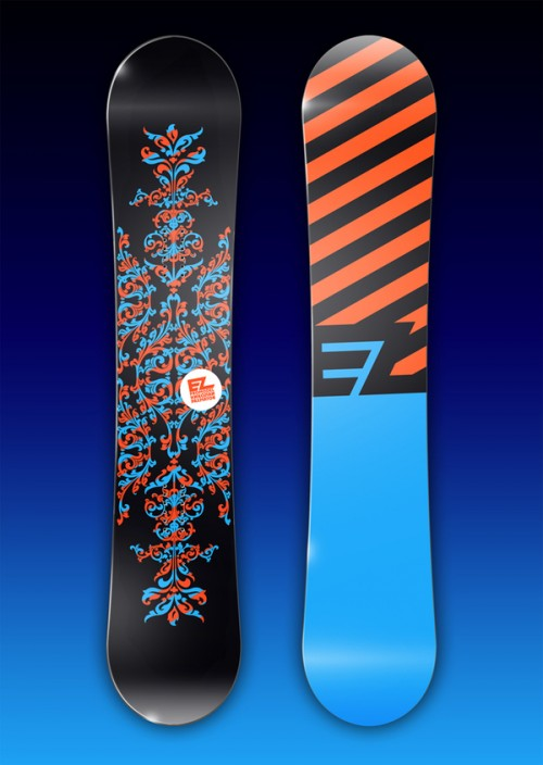 11153112644670761 500x704 50 Beautiful Examples of Snowboard Designs