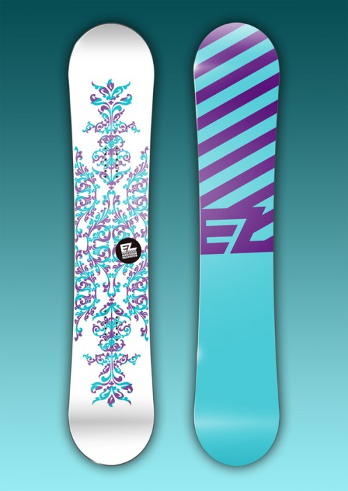 11153112644670901 500x704 50 Beautiful Examples of Snowboard Designs