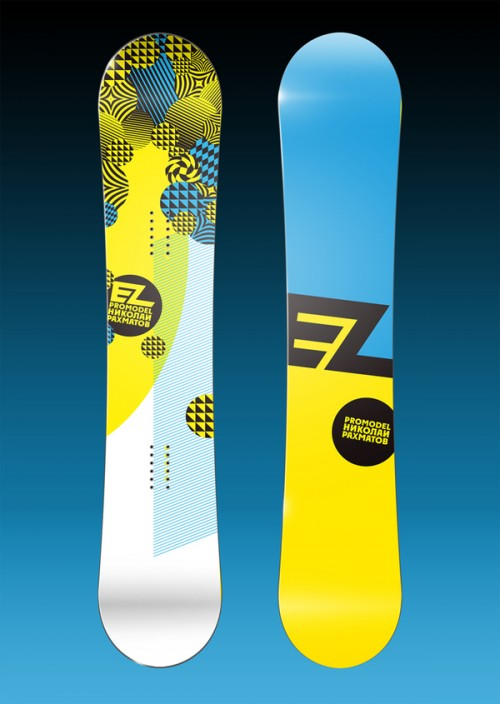 11153112644671111 500x704 50 Beautiful Examples of Snowboard Designs