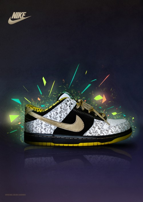 11176112486479771 500x706 40 Spectacular Examples of Nike Artworks