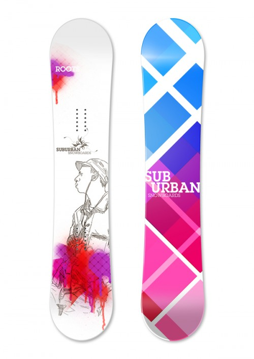 12825512596286441 500x707 50 Beautiful Examples of Snowboard Designs