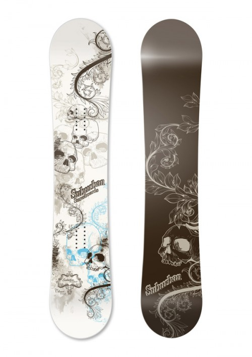 12825512596765071 500x707 50 Beautiful Examples of Snowboard Designs
