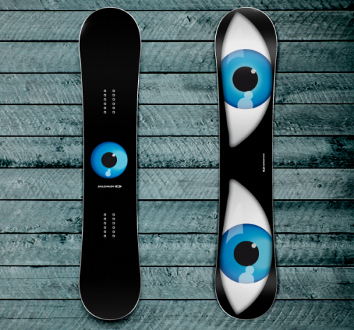 12839212591565551 500x466 50 Beautiful Examples of Snowboard Designs
