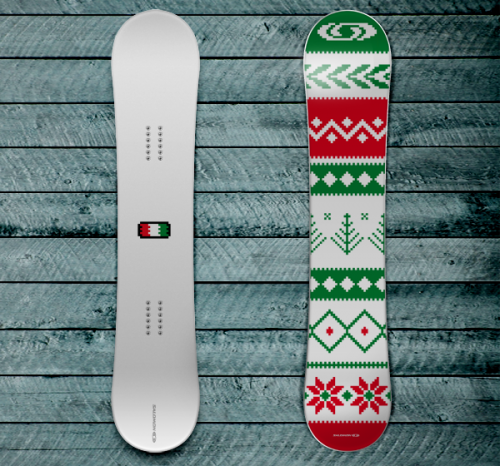 12839212591566091 500x466 50 Beautiful Examples of Snowboard Designs