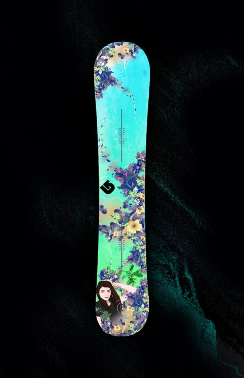 5124712387164351 500x774 50 Beautiful Examples of Snowboard Designs