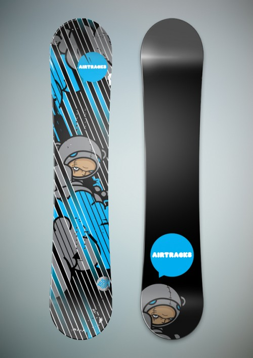 532021247495763 500x707 50 Beautiful Examples of Snowboard Designs