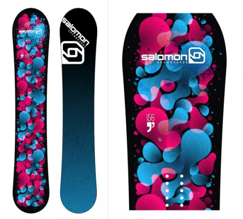 5529812222520391 500x450 50 Beautiful Examples of Snowboard Designs