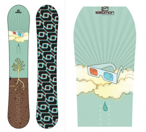 5529812222520531 500x450 50 Beautiful Examples of Snowboard Designs