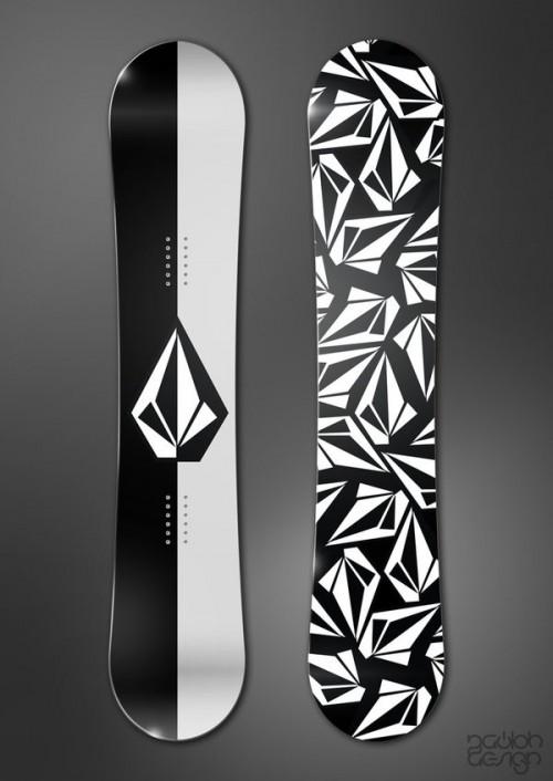 9115412379266921 500x706 50 Beautiful Examples of Snowboard Designs