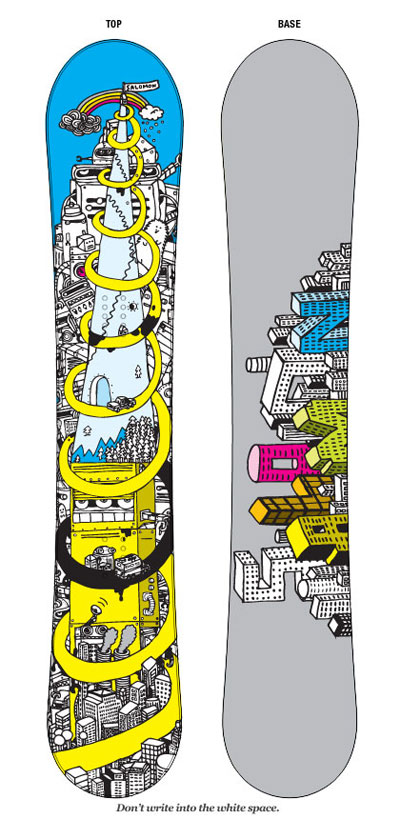 967111236348656 50 Beautiful Examples of Snowboard Designs