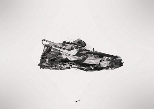 Nike Environment Protection by dr4oz1 500x353 40 Spectacular Examples of Nike Artworks