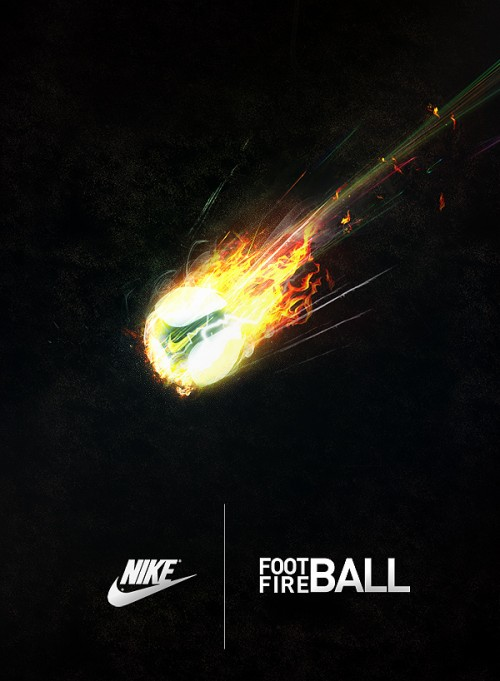 Nike Football by Nakrocp1 500x681 40 Spectacular Examples of Nike Artworks