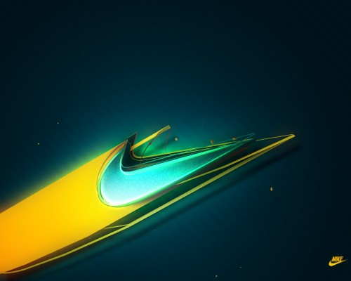 Nike Wallpaper by blacklabelwood1 500x400 40 Spectacular Examples of Nike Artworks