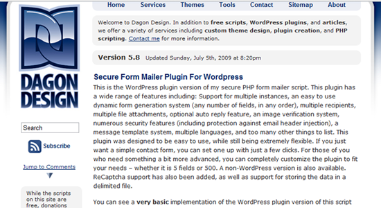Secure Form Mailer Plugin For Wordpress Top 10 WordPress Contact Form Plugins