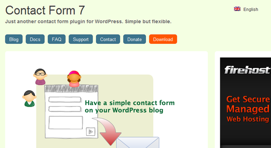 contact form 7 Top 10 WordPress Contact Form Plugins