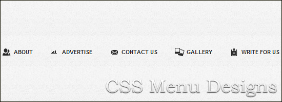 css-menu-design
