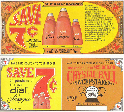 2619508943 cd4f67244e1 45 Classy Examples of Vintage Coupon Designs